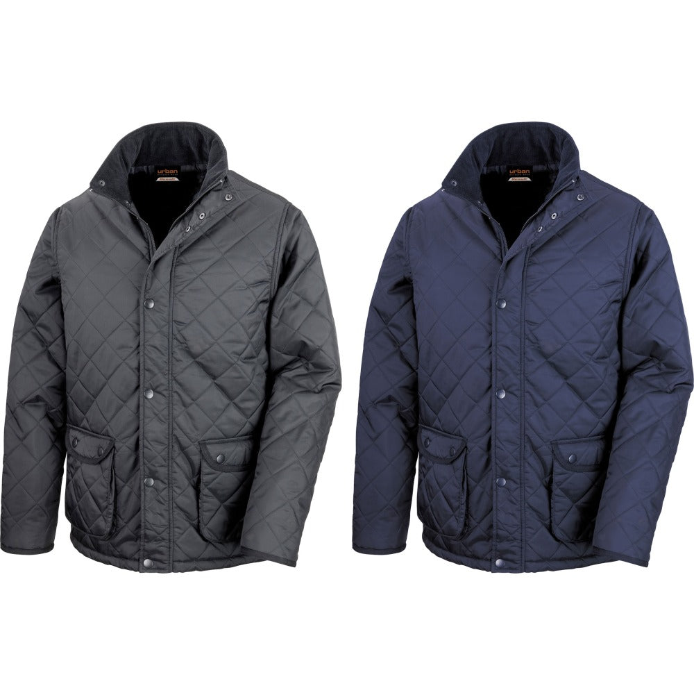 Mens Result Urban Outdoor Cheltenham Winter Warm Waterproof Jacket Coat