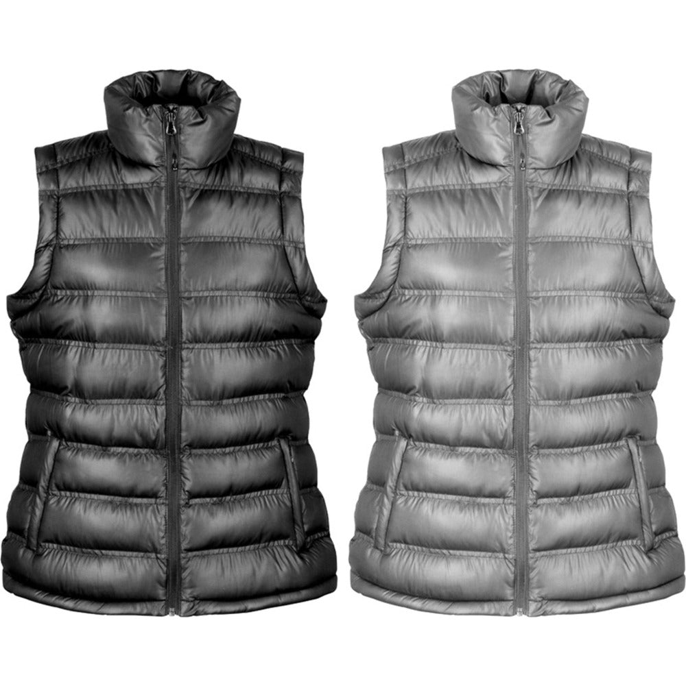 Ladies Women Result Winter Warm Ice Bird Padded Gilet Body Warmer Jacket