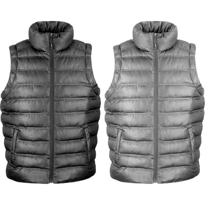 Mens Result Super Light Winter Warm Ice Bird Padded Gilet Body Warmer Jacket