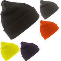 Mens Result Wooly Thinsulate™ Thermal Warm Insulation Ski Beanie Hat
