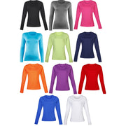 Ladies Women Rhino Long Sleeve Winter Warm Lightweight Soft Baselayer Top