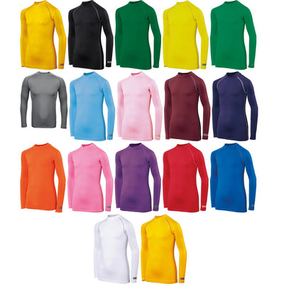 Kid Children Rhino Turtleneck Thermal Lightweight Colour Baselayer Long Sleeve