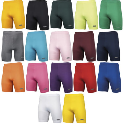 Mens Adult Rhino Thermal Warm Lightweight Colour Baselayer Shorts