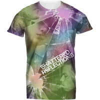 Mens Tshirt Shattered Refletions Design