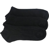 3 x BRITWEAR® Mens Trainer Liner / Ankle Cotton Rich Socks