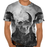 Ladies Tshirt Trio Skull Design