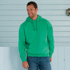 Mens Russell Authentic Hooded Hoodie Cotton Rich Colour Sweatshirt Sweat Top