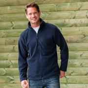 Mens Russell Full Zip Outdoor Colour Fleece Top (XS to 4XL)