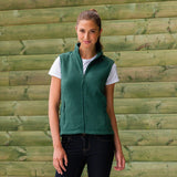 Ladies Women Russell Outdoor Fleece Sleeveless Gilet Top