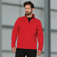 Mens Russell Smart Softshell Fleece Jacket Top (XS to 3XL)