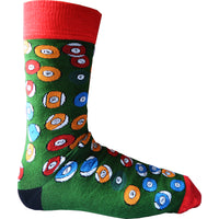 Ladies Women Wow Snooker Ball Bamboo Rich Novelty Fun Design Socks