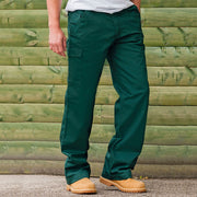 Mens Russell Workwear Cargo Trouser Pant Bottoms (28 to 48) Regular Long
