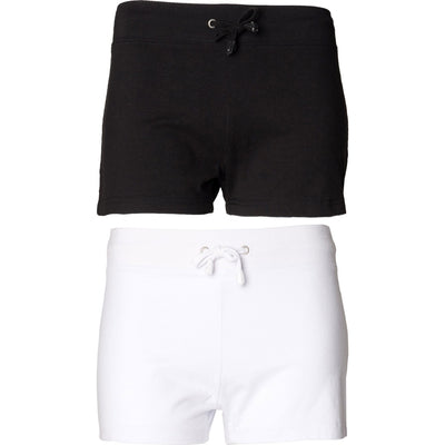 Ladies Women SF Lower  Fitting Cotton Rich Shorts