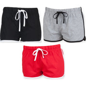 Ladies Women SF Retro Style Shorts