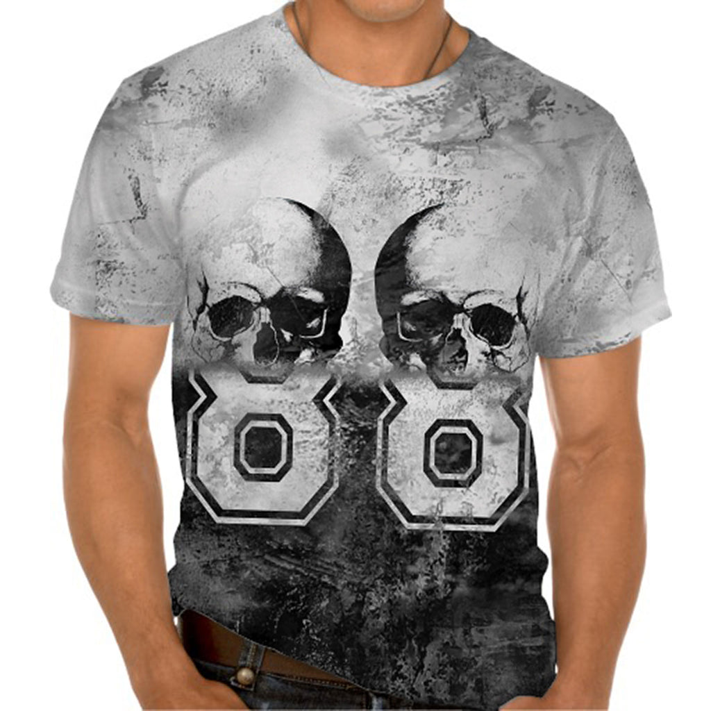 Ladies Tshirt Skulls 88 Design