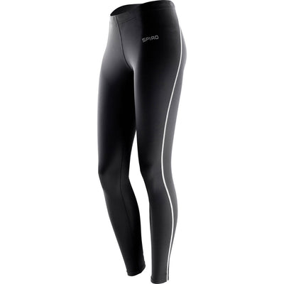 Ladies Women Spiro Lightweight Base Bodyfit Layer Legging Pant Bottoms