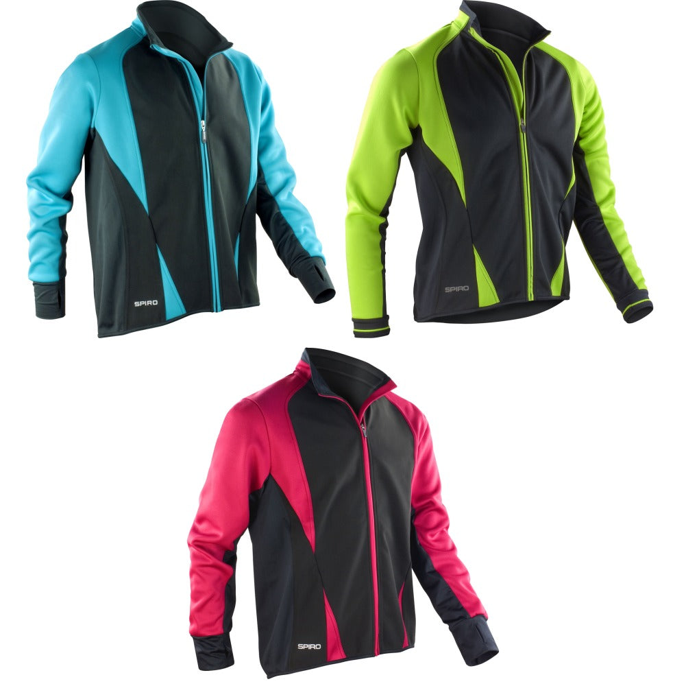 Mens Spiro Freedom Softshell Jacket Top