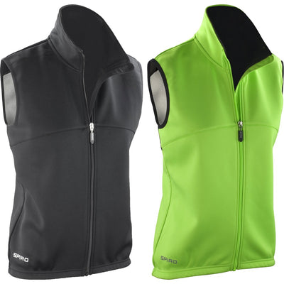 Ladies Women Spiro Airflow Sleevless Windproof Running Training Gilet Top