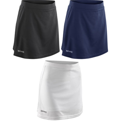 Ladies Women Spiro Hockey Netball Tennis Sport Skort Skirt