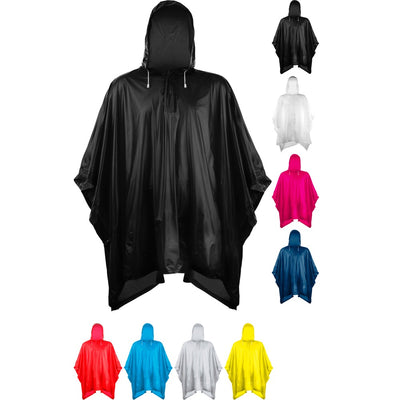 Unisex Adult Splashmacs Waterpoof Thick PVC Plastic Poncho Groundsheet