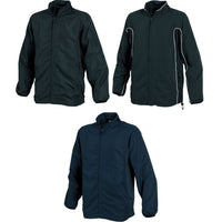 Mens Tombo Full Zip Microfibre Lined Training Top
