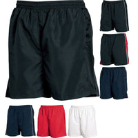 Mens Tombo Lined Performance Polyester Microfibre Mesh Lining Sports Shorts