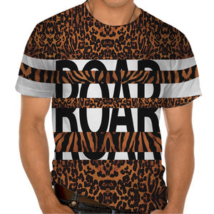 Ladies Tshirt Roar Design
