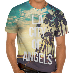 Ladies Tshirt L A Angels Tshirt Design