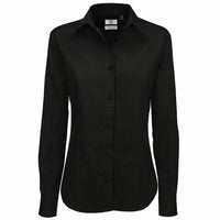 Ladies Women B&C Sharp 100% Cotton Long Sleeve Shirt