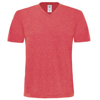 Mens B&C Deluxe Mick Classic V Neck 100% Cotton T Shirt Top