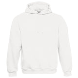 Mens B&C Plain Cotton Rich Hooded Hoodie Sweatshirt