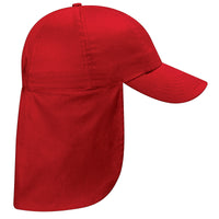 Kid Children Boy Girl Junior Legionnaire Style Cotton Baseball Cap Hat Back Flap