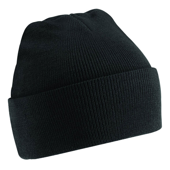 Kid Children Boy Girl Junior Beechfield Original Cuffed Thermal Knit Beanie Hat