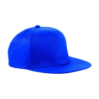Unisex Adult Beechfield Cotton Colour 5 Panel Snapback Rapper Baseball Cap Hat