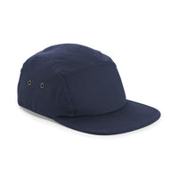 Ladies Women Canvas 5 Panel 100% Cotton Baseball Cap Hat Flat Peak