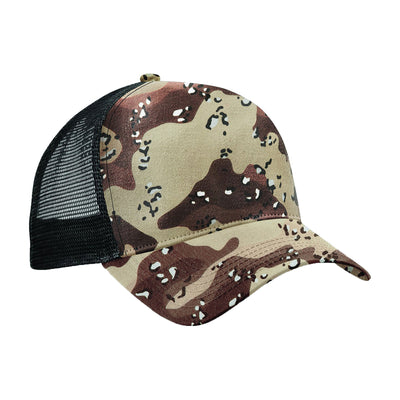 Adult Unisex Men Women Camo Camouflage Army Front Trucker Baseball Cap Hat