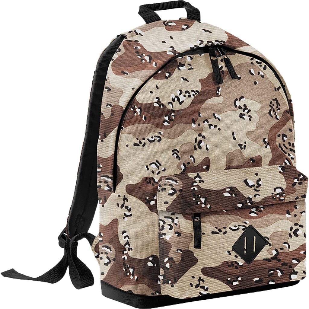 Bag Base Camo Camouflage Army Design Travel Back Pack Ruck Sack