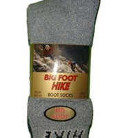 6 x Mens Big Foot XL Boot Socks