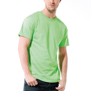 Mens Adult Gildan Ultra Cotton Jersey Knit Short Sleeve Colour Plain T Shirt Top