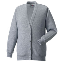 Ladies Women Russell Fleece Cardigan Top