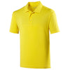 Mens Cool 100% Polyester Polo Neck Sport Plain T Shirt
