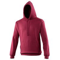 Ladies Women Plain AWDis Cotton Rich Hoodie Hooded Sweatshirt Top (size S-5XL)