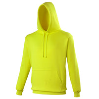 Mens AWDis Electric Neon Bright Hoodie Hooded Top
