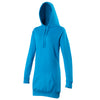 Ladies Women AWDis Longline Hoodie Kangaroo Pouch Cotton Rich Hooded Top