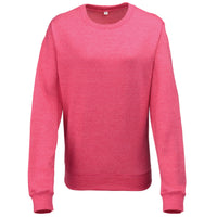 Ladies Women AWDis Heather Sweatshirt Top
