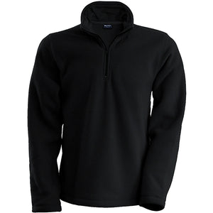 Mens Kariban Enzo 1/4 Zip Warm Outdoor Fleece Jacket Top