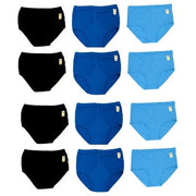 12 x Mens 100% Cotton Y Fronts Full Trad Briefs