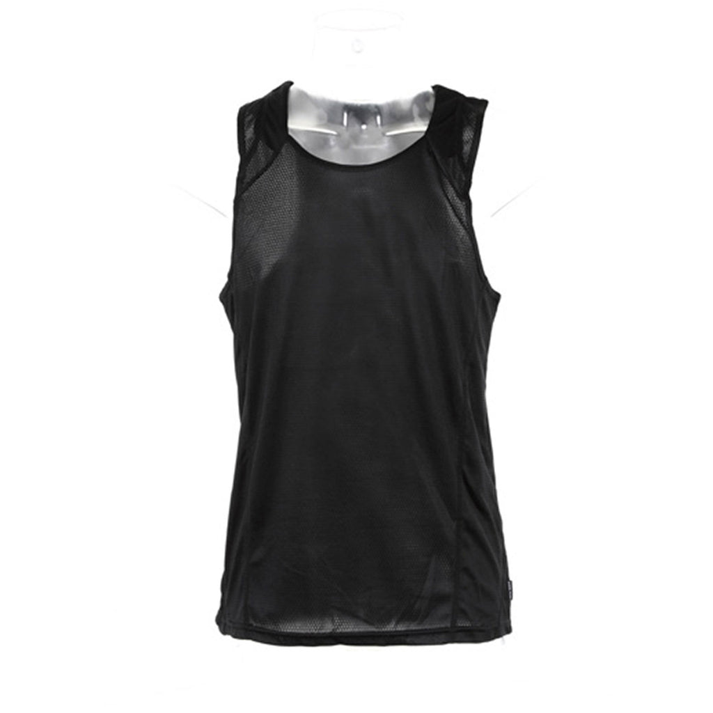 Mens Gamegear® Cooltex® Sport Gym Running Sleeveless Vest Colour Side  Top