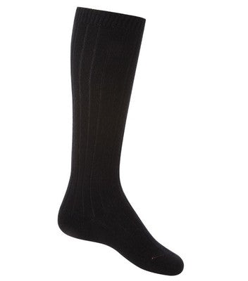 6 x Ladies / Women Premium Quality Ribbed 100% Cotton Socks