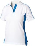 Ladies Women Finden Hales 100% Cotton Sport Polo Neck Short Sleeve Shirt Top